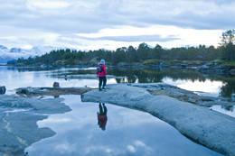 Fine strender med kystfuru og lettgått landskap. -  Foto: Kjell Fredriksen