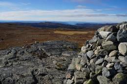 Varden på Rauddalsfjellet 1205 moh -  Foto: Ole-Petter Andersen