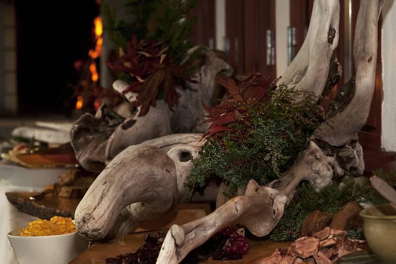 Hovden Fjellstoge setter hver høst opp sin kjente viltbuffet