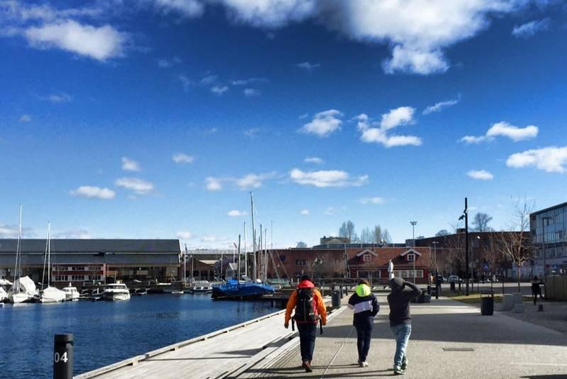 Brygga i Holmestrand