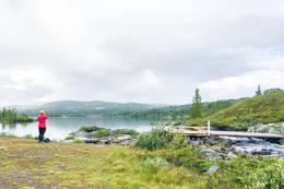 Fra Utoset til Mykingsjøen -  Foto: Solveig Hjallen