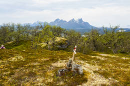Klippetanga på toppen, utsikt mot sørvest - Foto: Kjell Fredriksen