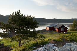 Egnarbua og strandenga - Foto: Stig Harald Rasmussen