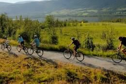 En flott reise gjennom Hallingdal på rolige grusveier -  Foto: Stiftelsen Sykkelturisme