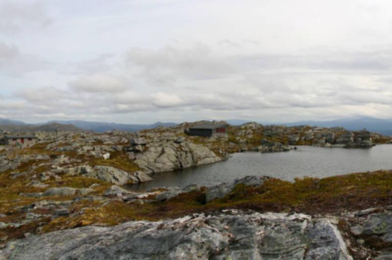Hardbakkhytta panorama. 18.aug