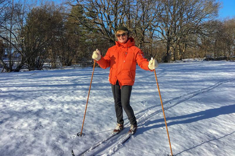 Skiløper.
