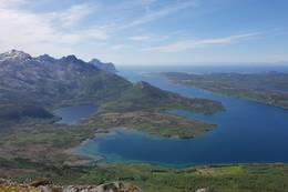 Utsikt utover Skotsfjorden -  Foto: Petter Michael Hovland