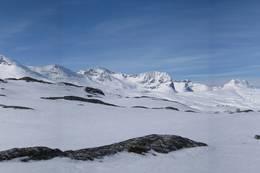 Storsalmassivet og Kringlehøa -  Foto: Oddveig Torve
