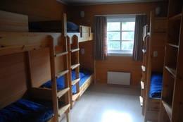 Ådneram Turisthytte hytta har rom med 2-4-og 6 senger alle med vask - Foto: Kjell Helle-Olsen