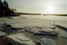 Vinter ved Blåskogvannet - Foto: Per Berg.