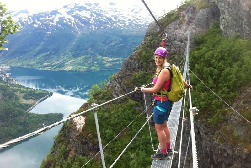 Utsikt fra Gjømunnebrua