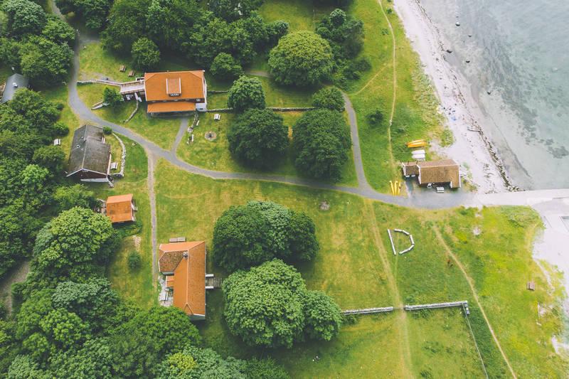 Oversikt over hyttene