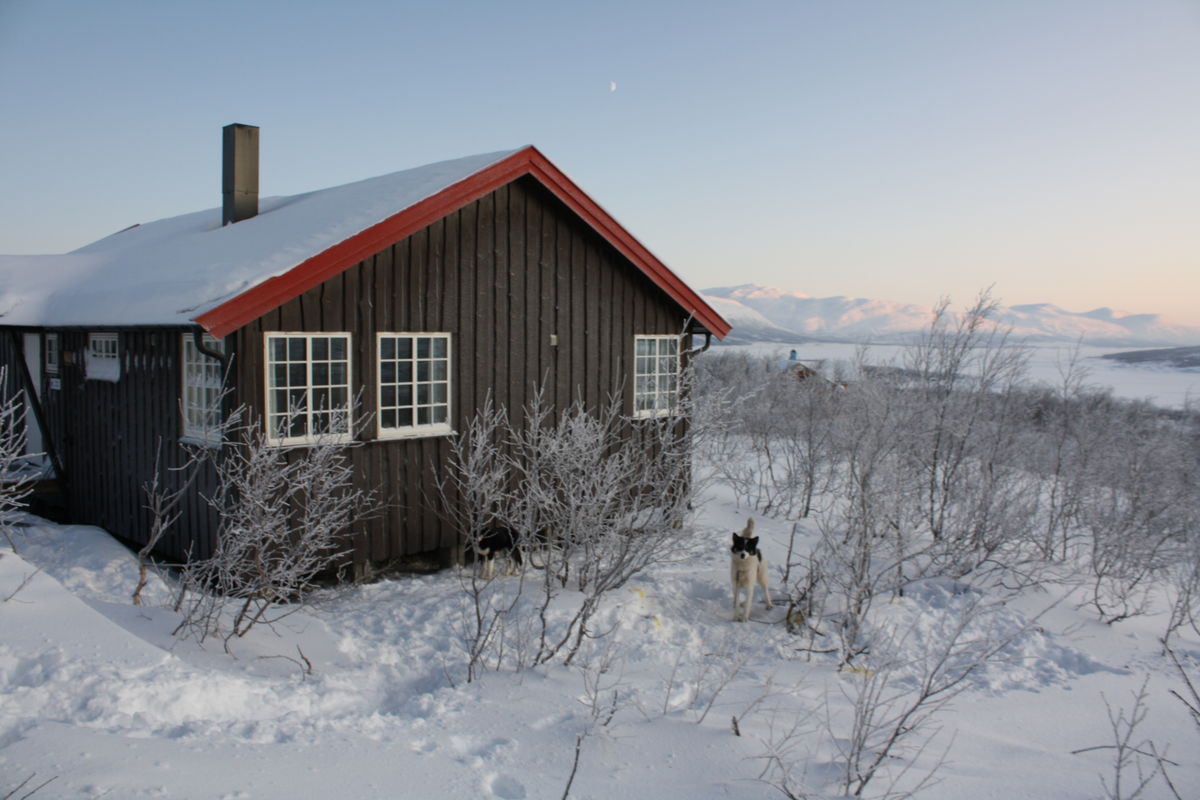 Altevasshytta, Indre Troms.