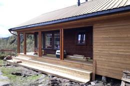 Ny liten hytte  - Foto: Brita Gabrielsen