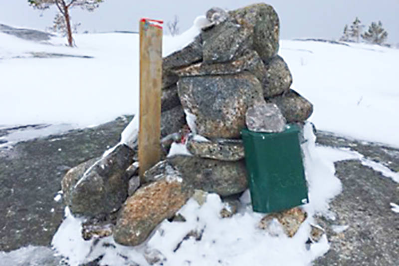 """KJlippetanga for """"Ti på topp i Hamarøy"""""""