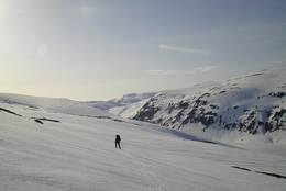 Ned mot Todalskaret -  Foto: Ivar Vullum