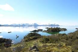 Du behøver ikke å gå langt for å nyte fjord og fjell! - Foto: Kristin Green Nicolaysen