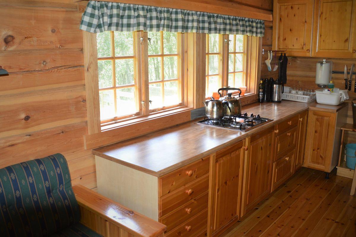 Kjøkkenet med det viktigste av utstyr
