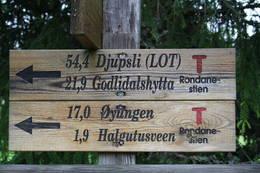 Skilt ved Bringbu mot Halgutusveen - Foto: Knut Einar Nordhagen, 977 80 304