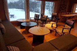 Ådneram stue med utsikt rett i naturen - Foto: Tore Dahl