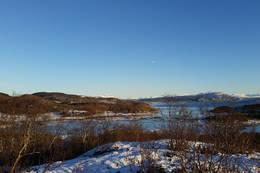 Utsikt mot øst - Foto: Kjell Fredriksen