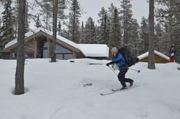 Vinter ved Fønhuskoia - Foto: Hallgrim Rogn