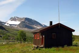 Rostahytta i Indre Troms  - Foto: Hanneke Luijting