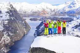 Hvilken utsikt mot Trollfjorden! - Foto: Trond Løkke