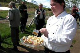 På Jøldalshytta i Trollheimen får du servert fjellørret fra Jølvatnet - Foto: Jonny Remmereit