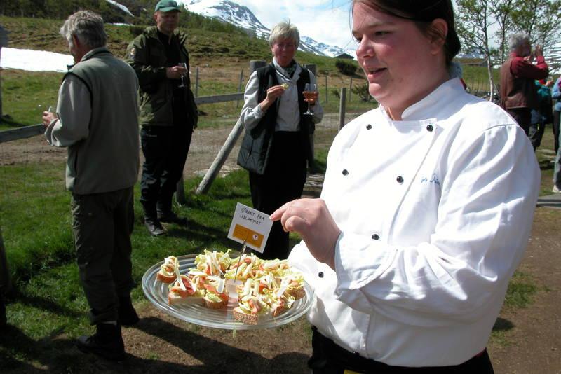 På Jøldalshytta i Trollheimen får du servert fjellørret fra Jølvatnet