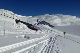 Slutten av mars med mye snø - Foto: Per Henriksen