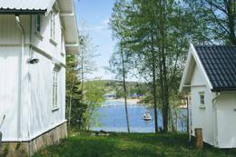 Veslekillingen utsikt mot Bjerkøya - Foto: