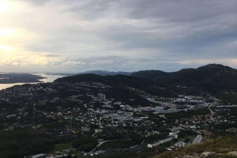 Utsikt over Åsane