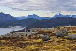 Utsikt østover - Foto: Kjell Fredriksen