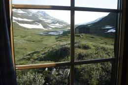 Utsikt fra stua - mot sør - Foto: Tor Magne Andreassen