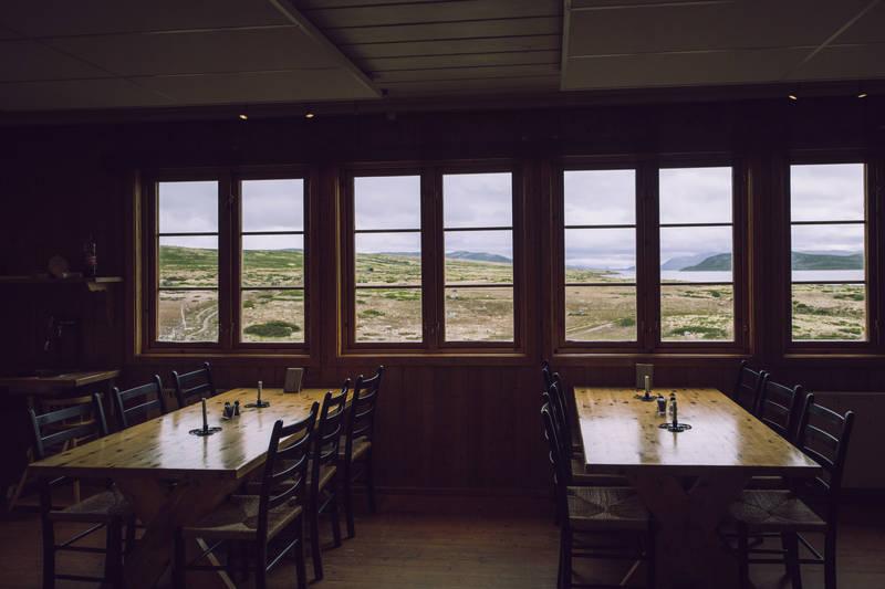 Spisesalen på Mårbu