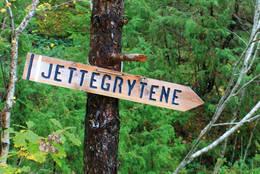 Godt merket - Foto: Aust-Agder turistforening