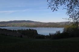 Utsikt mot Mjøsbrua -  Foto: Fredrik Langballe