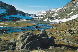Fra Ståvassdalen høyeste punkt på løypa - Foto: Kjell Helle-Olsen