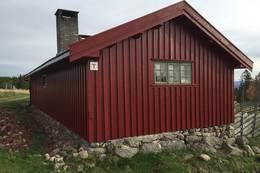 Nymalt hytte - Foto: Margrete Ruud Skjeseth