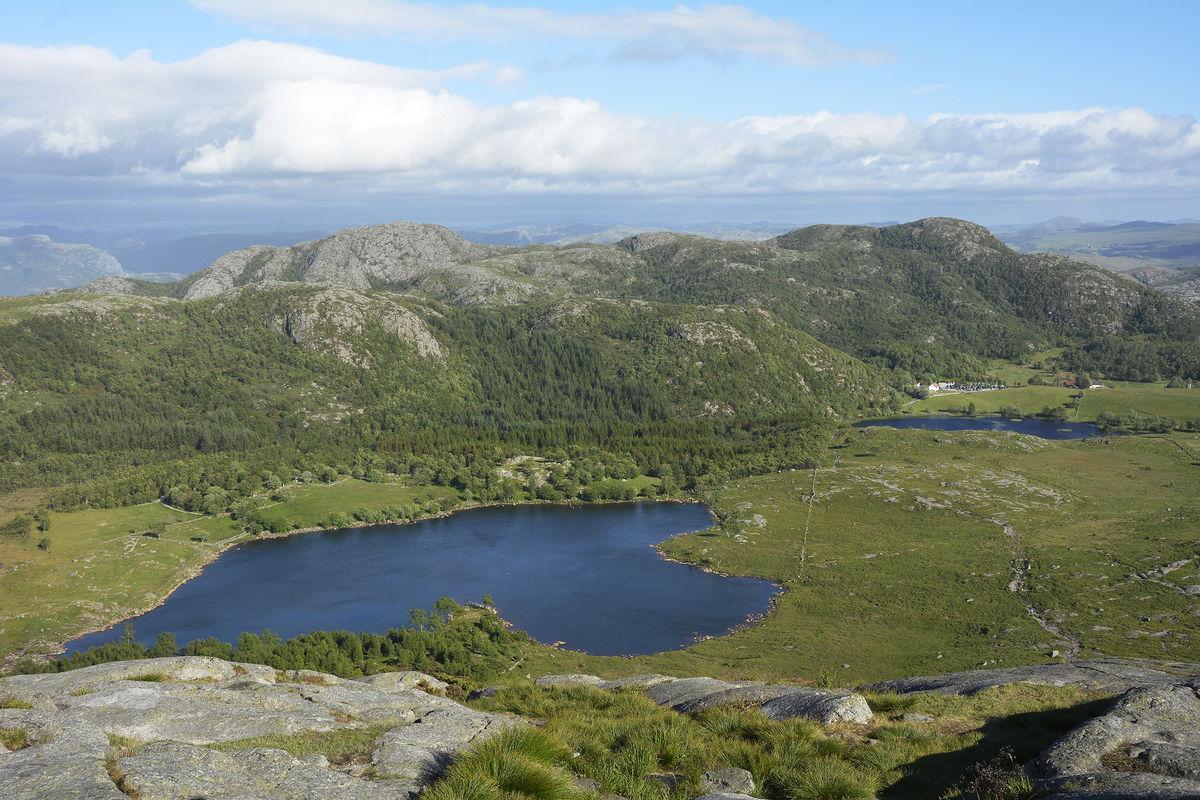 Utsikt over Gramstad