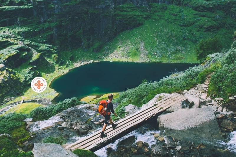 Historisk vandrerute i Aurlandsdalen