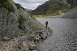 Drifteveien langs Laugarvatnet - Foto: Odd Inge Worsøe