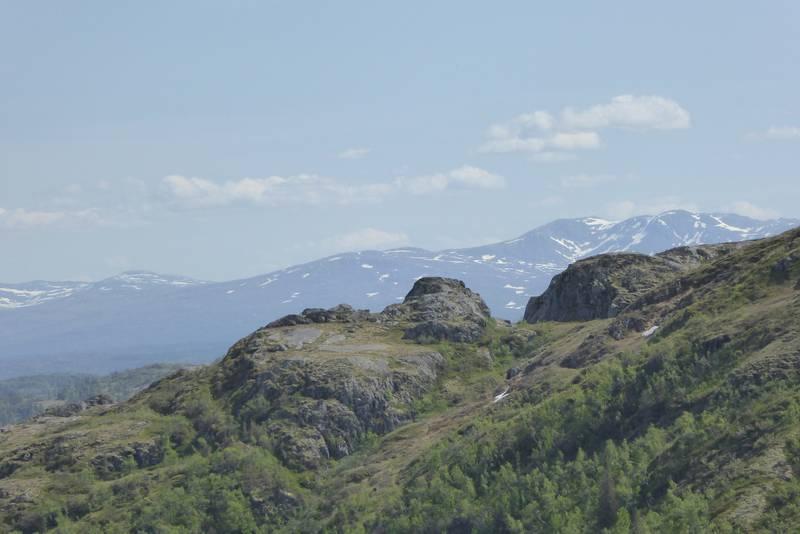 Utsikt mot Trollheimen