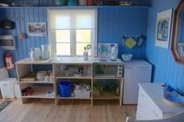 Kjøkkenkroken i hytta