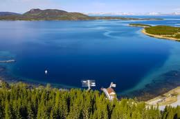 Utsikt mot Tannøya - Foto: Kjell Fredriksen
