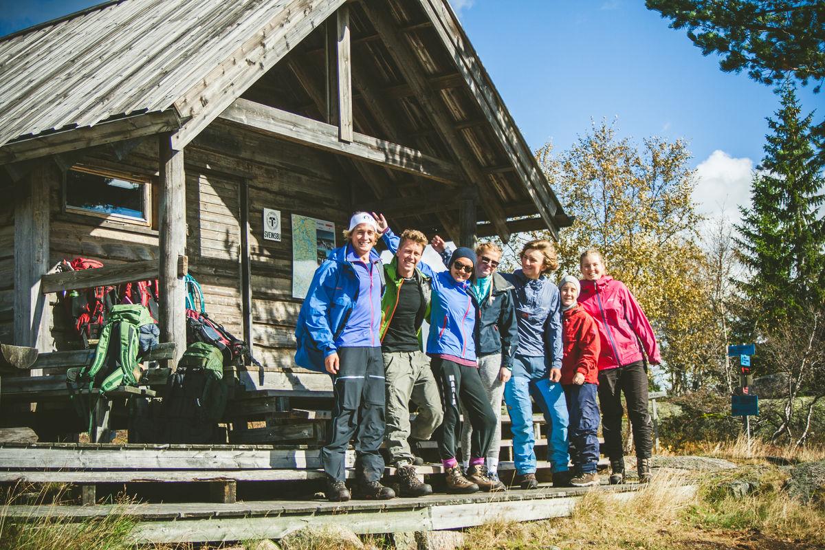 DNT ung Kongsberg på Sveinsbu