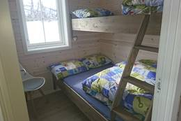 Soverom med familiekøye - Foto: Åshild Bjørnådal