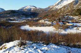 Utsikt mot sørvest - Foto: Kjell Fredriksen