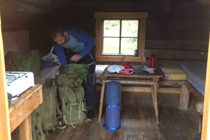AN hytta Interiørt